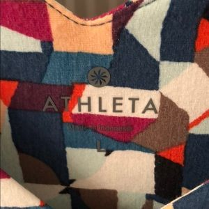 Athleta Dresses - Athleta Santorini Geo Print Dress